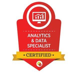 Digital Marketer Analytics & Data Specialist Badge | Musselwhite Marketing