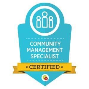 Digital Marketer Community Management Specialist Badge | Musselwhite Marketing