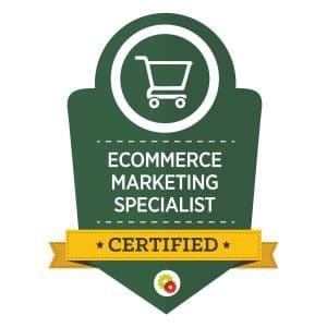 Digital Marketer Ecommerce Marketing Specialist Badge | Musselwhite Marketing