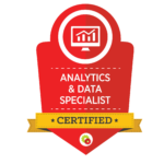 Analytics Data Specialist Badge