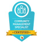 Community Management Specialist Badge