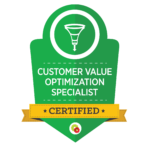 Customer Value Optimization Specialist Badge