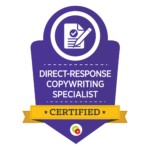 Direct Response Copywriting Specialist Badge