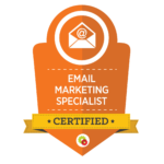 Email Marketing Specialist Badge