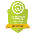 Optimization Testing Specialist Badge