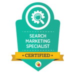 Search Marketing Specialist Badge