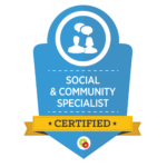 Social Community Specialist Badge