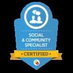 Social Community Specialist Badge