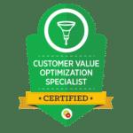 Customer-Value-Optimization-Specialist-Badge
