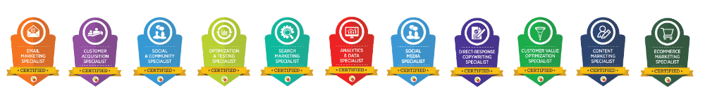 Musselwhite Marketing DigitalMarketer Certifications