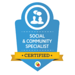 Digital Marketer Social Community Specialist Badge | Musselwhite Marketing