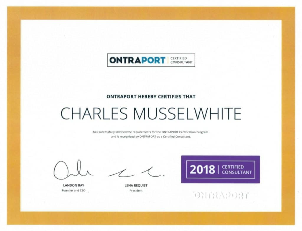 Musselwhite Marketing Ontraport Certified Partner