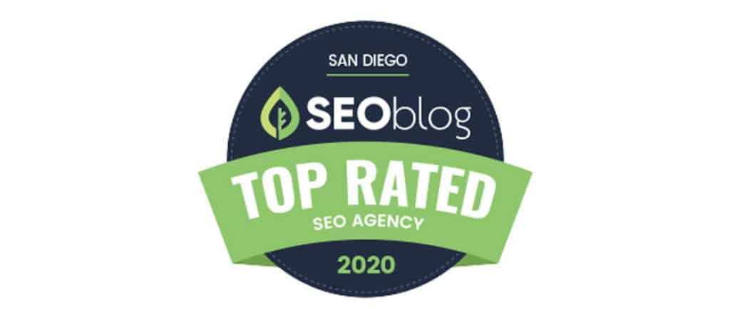 logo of SEOblog top rated seo agency in 2020 for san diego
