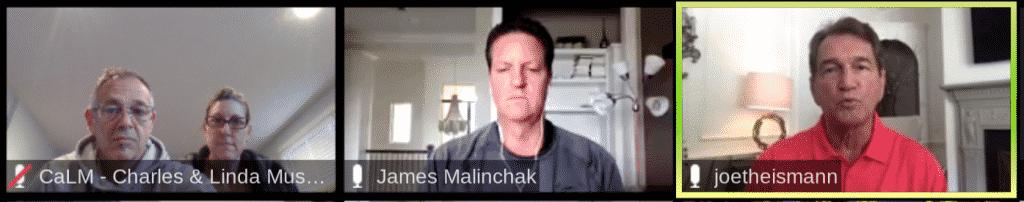 Musselwhite Marketing - James Malinchak's coaching call with Joe Theismann