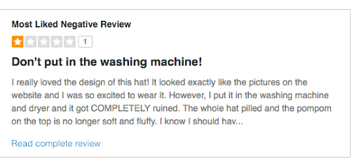 Negative review - Musselwhite Marketing
